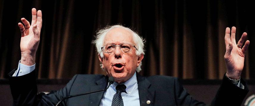 THE RETURN Bernie Sanders announces he is running for US president