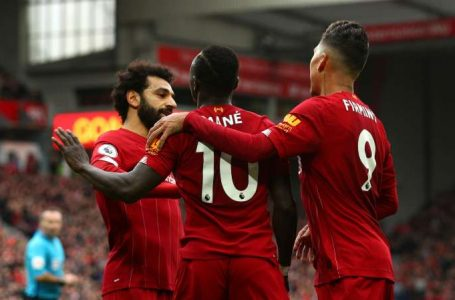 Liverpool 2-1 Bournemouth: Salah and Mane clinch record-breaking win