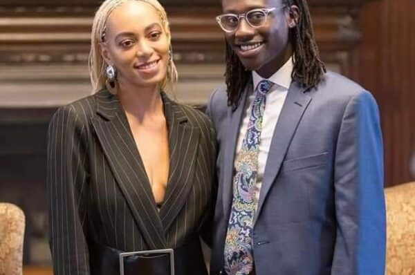 POSE: Besigye Anselm Chills With Superstar Solange Knowles