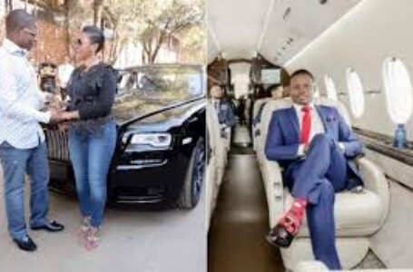 ROW: Prophet Bushiri And Wife Smuggled Out Of SA In Presidential Jet?