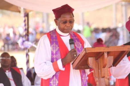 SHAME: Church Of Uganda Retired Arch Bishop Ntagali Admits He Chewed Married Woman