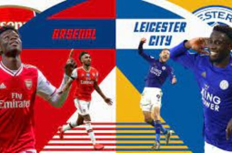 GAMEDAY:  Leicester vs Arsenal Half Time 1-1