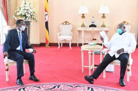 CREDENTIALS: Somali Ambassador Designate Meets President Museveni