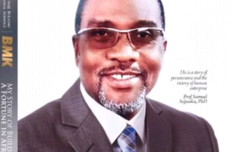 """BACK: Tycoon BMK Returns With A Book """"My Story of Building A Fortune In Africa"""""""