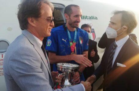 JOY: Roberto Mancini Dedicates Euro 2020 Win To All Italians