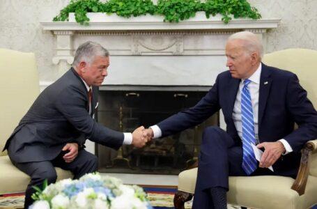 TALKS: US President Joe Biden, Jordan's King Abdullah Meet At The White House