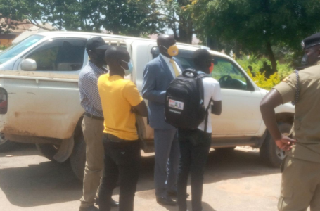 RECOVERED: Stolen Late Hon. Abiriga's Car Found Abandoned In DRC